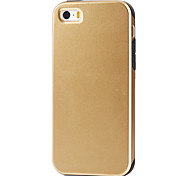 Super Protection 2 in1  Slim Hybrid High Impact Hard Silicone Case for iPhone  5/5S  (Assorted Color)