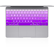 "Big Letter Color Gradual Change Silicone Keyboard Cover for Macbook 13"" 15"" 17"""