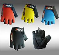 Qepae Cycling Gloves fingerless Half Finger Lycra Anti-skid Bicycle Gloves