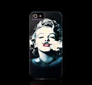 copertina rigida marilyn monroe modello di iphone 5 per il iphone 5 s