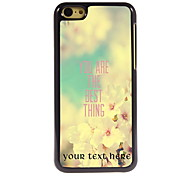 Personalized Gift You Are The Best Thing Design Aluminum Hard Case for iPhone 5C