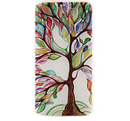 Color Tree Pattern TPU Material  Phone Case for LG G3