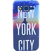 New York City Pattern PC Hard Case forSamsung Galaxy Core Prime G360 G360H G3606 G3608 Back Cover
