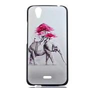 Elephant  Pattern PC Phone Case For Wiko BIRDY