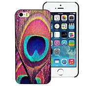 Peacock Feathers Design Hard Case for iPhone 4/4S
