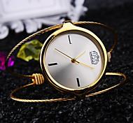 Mulheres Relógio de Moda Quartzo Impermeável Metal Banda Casual Prata Dourada Ouro Rose marca