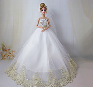Barbie Doll Wedding Dress the Dream Wedding
