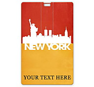 Personalized USB Flash Drive The Statue Of Liberty In New York Design 8GB Card USB Flash Drive