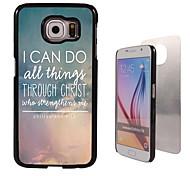 ik kan het ontwerp aluminium koffer voor Samsung Galaxy s6 doen