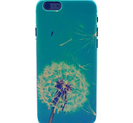 Blue Dandelion Pattern PC Hard Case for iPhone 6