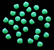 CandyPearl5mm 100pcs/lot Green Candy Pearls 5mm Half Round Pearls Nail Art Rhinestones Nail Tools