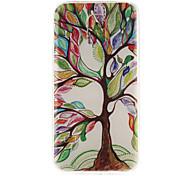 Colori albero materiale modello TPU soft phone per mini galassia s5