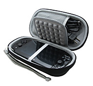 Protective EVA Carry Travel Case Cover Box Bag for Sony PS Vita With Chargers