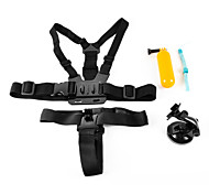 4 In 1 Accessories Suit  for Gopro Hero 4/3+/3/2/1/sj4000/sj5000/sj6000