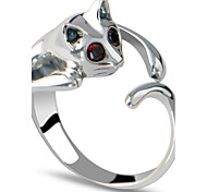 Cute little cat ring can be adjusted
