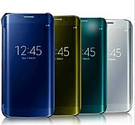 multicolor pc + espelho uv caso de telefone dormente por samsung galaxy S6 bordo (cores sortidas)