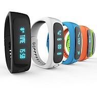 "E02 0.91"" OLED Wearable Smart Wristband Bracele Bluetooth4.0 Sleep Tracker Pedometer For Android/iOS"