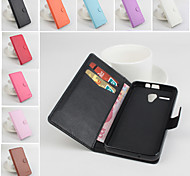 Protective PU Leather Magnetic Vertical Flip Case for Lenovo A606(Assorted Colors)