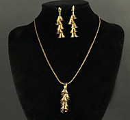 Fox&Crown Alloy Jewelry Set Fashion Wedding Jewelry 1 set