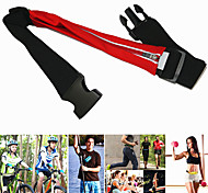 Waterproof Mini Zipper Belt Bag For Outdoor Sports/ Running/ Cycling/ Fitness/ Yoga/ Fishing , Phone Waist Pack - Red