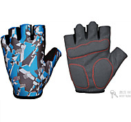 Outdoor Sports Motorcycle Cycling Tactical Gloves  Tactical Gloves  Apparel & Accessories      Blue