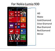 10pcs hd protector transparente película de pantalla para Nokia Lumia 930