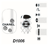 Fashion Nail Art Glitter Sticker
