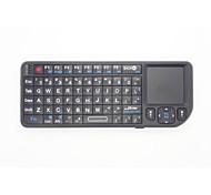 2 в 1 мини размером с ладонь 2.4G беспроводной клавиатуры и мыши комбо с тачпадом для Google Android коробки TV Smart PC