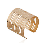 Fashion Metal Cuff Bracelet(Gold)