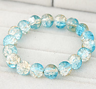 European Style Concise Fashion Glass Bead Bracelet