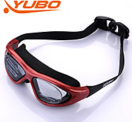 YOBO Unisex Anti-Fog/Adjustable Size/Anti-UV/Anti-slip Red Swimming Goggles