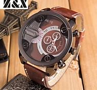 orologio da polso al quarzo grande sport di linea moda uomo (colori assortiti)