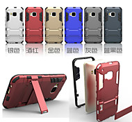 Per Custodia HTC Resistente agli urti / Con supporto Custodia Custodia posteriore Custodia Armaturato Resistente PC HTC
