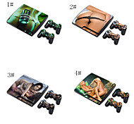 Sex Girl Designer Skin for Sony PlayStation PS3 Slim System & Remote Controllers