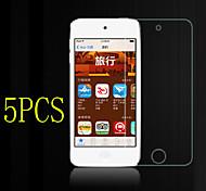 5pcs hohe Transparenz lcd kristallklare Displayschutzfolie mit Reinigungstuch für iPod-Note 4