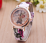 Women's Watches  New Style Mobile Crystal Quartz Watch Rose Tower Woman Belt  Watch