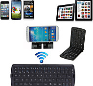 Portable Foldable Bluetooth Keyboard Ultra-slim Mini Wireless Keyboard for iOS Android Windows PC Tablet Smartphone