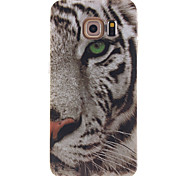 For Samsung Galaxy Case IMD Case Back Cover Case Animal TPU Samsung S6 edge