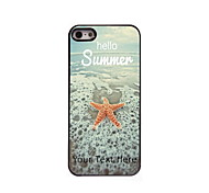Personalized Gift Hello Summer Design Aluminum Hard Case for iPhone 5/5S