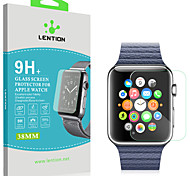 LENTION 0.1mm Ultra Thin Tempered Glass Screen Protector for Apple Watch Productive Film for 38mm