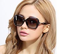 Sunglasses Women's Classic / Elegant / Fashion / Polarized Oversized Black / Brown / Red / Purple / Blue Sunglasses Full-Rim