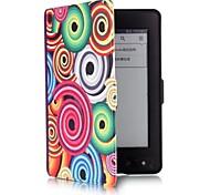 6 дюймов раковины шаблон PU кожаный чехол с магнитной застежкой для Amazon Kindle paperwhite