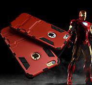 iron man caso copertina rigida protettiva con kickstand per 6s iphone / iphone 6