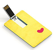 64GB The Heart Design Card USB Flash Drive