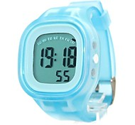 Women's Fashion Rubber Band Digital Watch (Assorted Colors)