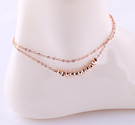 Fashion Sweet Ball Alloy Anklet
