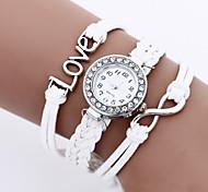 8 Shape LOVE Students Watch  Bracelet Watch Bohemia Watches Vintage Woman'S Watch