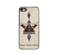 Personalized Gift Elk Design Aluminum Hard Case for iPhone 5/5S