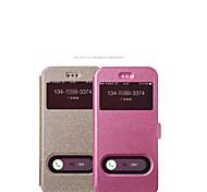 2015 telefone celular caso protetor de telefone shell quente caso manga padrão iphone6 seda telefone coldre clamshell 4.7inch