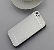 4s Fall Luxus Metallbürste der rückseitigen Abdeckung für iphone 4 4s harte schützende Haut-Telefonoberteil schmal zurück Fall für Apple